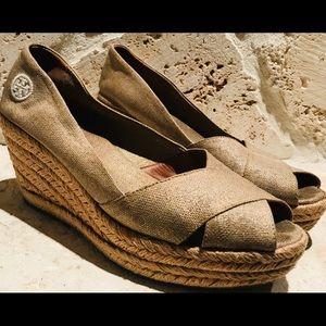 Tory Burch Filipa Goldish Espadrille women shoes